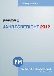 Jahresbericht 2012 - Landkreis Potsdam-Mittelmark