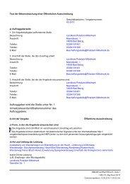 a) Öffentlicher Auftraggeber (Vergabestelle) - Landkreis Potsdam ...