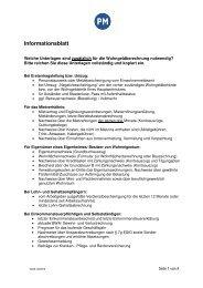 Informationsblatt - Landkreis Potsdam-Mittelmark