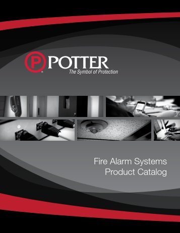 Fire Alarm Systems Product Catalog - Potter Electric Signal ...