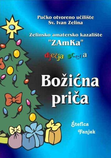 programski letak predstave - POU Zelina