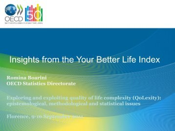 Insights from the Your Better Life Index - Aiquav