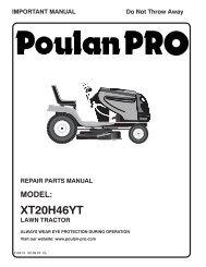 om, xt20h46yt, 2007-02, tractors/ride mower, 960420047 - Poulan