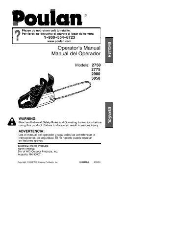 OM, Partner, P33, 953900457, 2006-04, Chain Saw, EN