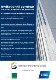 Invitation til seminar - EDC Poul Erik Bech