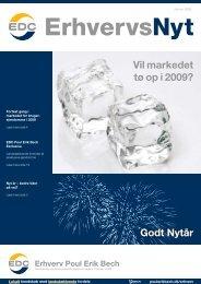 ErhvervsNyt Januar 2009 - EDC Poul Erik Bech