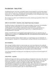 Forældrekøb - fakta JURA - EDC Poul Erik Bech