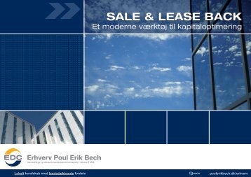 SALE & LEASE BACK - EDC Poul Erik Bech