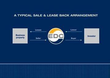 a typical sale & lease back arrangement - EDC Poul Erik Bech