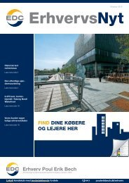 ErhvervsNyt Oktober 2010 - EDC Poul Erik Bech