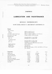LUBRICATION AND MAINTENANCE - The Rolls-Royce and Bentley ...