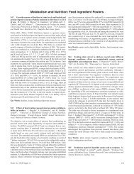 Metabolism and Nutrition: Feed Ingredient Posters - Poultry Science ...