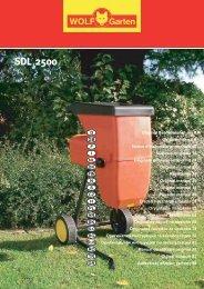 SDL 2500 SDL 2500