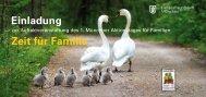 Einladung Zeit für Familie