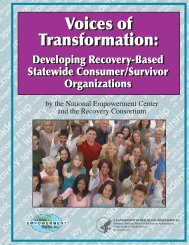 Voices of Transformation - National Empowerment Center