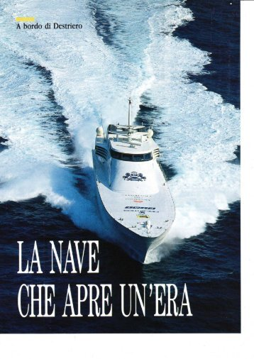 A bordo di Destriero - Powerboat Archive