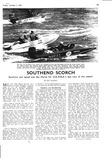 SOUTHEND SCORCH - Powerboat Archive