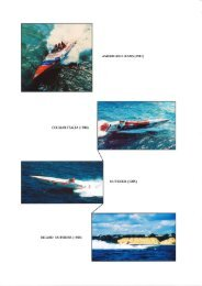 STAIN Monos (Photos) - Powerboat Archive
