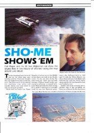 1985 WEST COAST RACING (3) + Speed Trials - Powerboat Archive
