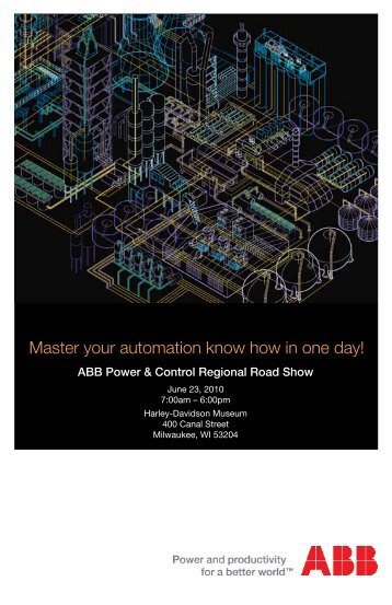 Master your automation know how in one day! - Power/mation