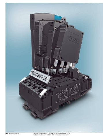 Phoenix Contact CLIPLINE Special Terminal Blocks ... - Power/mation