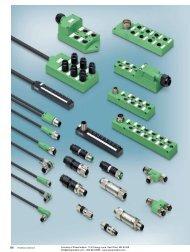 Phoenix Contact PLUSCON Sensor/Actuator Cabling - Power/mation