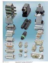 Heavy-duty industrial plug connectors - Power/mation