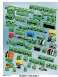 Phoenix Contact COMBICON compact - PCB ... - Power/mation