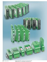 Phoenix Contact INTERFACE Monitoring Relays ... - Power/mation
