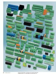 Phoenix Contact COMBICON control - PCB Terminal ... - Power/mation