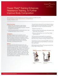 Power Plate® Training Enhances Resistance Training, to Further ...