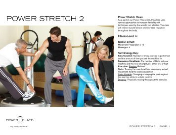 power plate anti cellulite class fitness level beginner. Black Bedroom Furniture Sets. Home Design Ideas