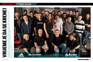 Men's Health Fitness izazov 02-2010 - Power Plate