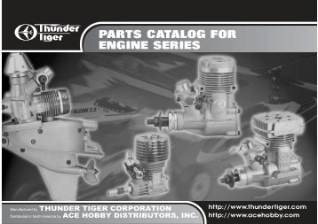 PARTS CATALOG FOR ENGINE SERIES