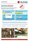 Neue Besäumer-Steuerung Erfolgreicher Einsatz im Längs - ALFHA - Page 2