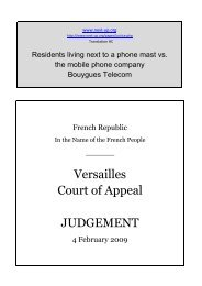 Versailles Court of Appeal JUDGEMENT - Next-up