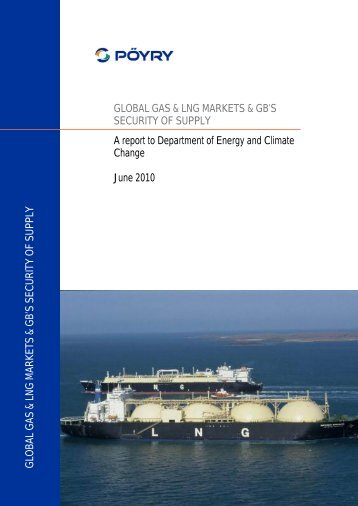 global gas & lng markets & gb's security of supply - Gov.uk