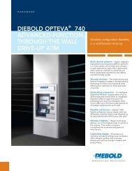Diebold Opteva® 740 advanced-Function ... - ATM Vendors