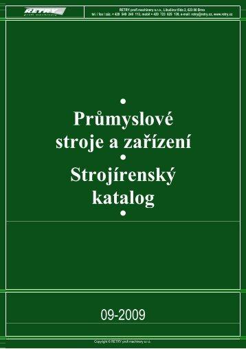 Průmyslové stroje a zařízení Strojírenský katalog - Poziadavka.sk