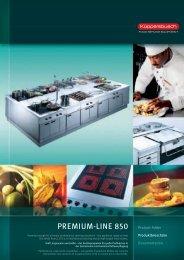 Prospekt Premium-Line 850, 44 Seiten - Horesga