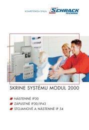 Skrine systemu M2000 (pdf, 1,22 MB) - Schrack Technik