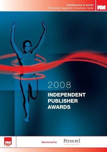 independent publisher awards - Periodical Publishers Association