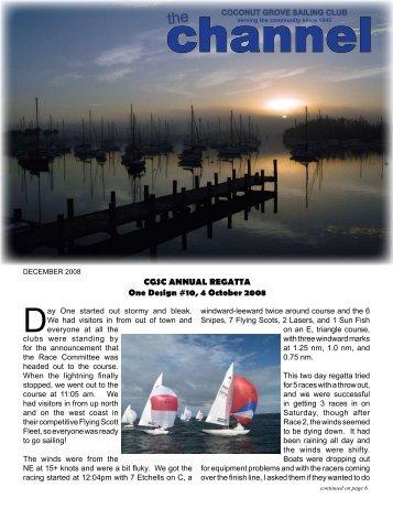 December 2008 - Coconut Grove Sailing Club