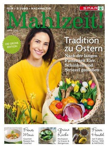 SPAR Mahlzeit! Tradition zu Ostern - Heft 2/2014
