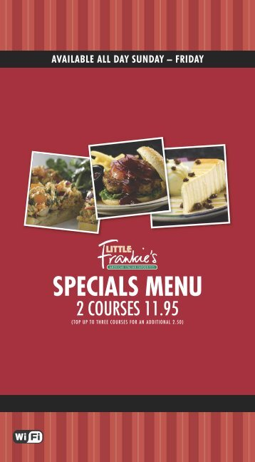 Download LF Specials - Frankie and Bennys