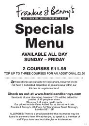 Download F&B Specials (Large Font) - Frankie and Bennys