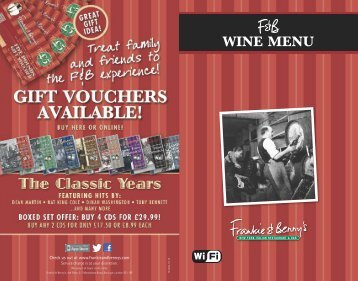 Download F&B Wines - Frankie and Bennys
