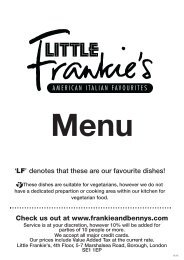 Download LF Main (Large font) - Frankie and Bennys