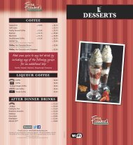 Download LF Desserts - Frankie and Bennys