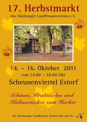 17. Herbstmarkt - Landfrauen Nienburg